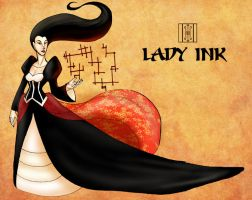 Lady Ink - The Book of Stories by RobinRone