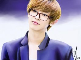Park Chanyeol by RollingAlien