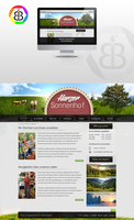 Homepage for a Farm/Guesthouse by z3rx