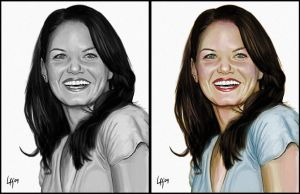 """Jennifer Morrison"" by pichulin"
