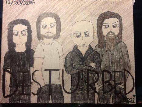 Disturbed Poster by Lubby-Alexa