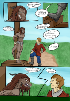Symphony of Flame: Bloody Sands. Page 6 by Maltaid