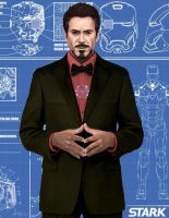 Tony Stark Tribute by mkmatsumoto