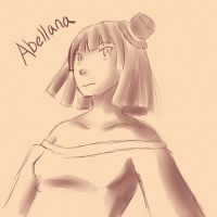 AoH - Abellana Sepia Sketch by Deena15