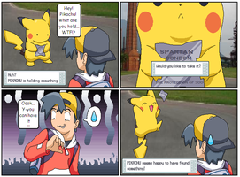 Your PKMN is holding something by Gregarlink10