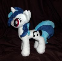 mini DJ Pon3 plush by CatyCrippledCat