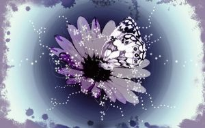 Butterfly Wallpaper +moved+ by Kelzky13