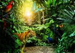 The Jungle by Cleo-Bizarre