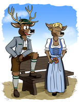 Bavarian Clothing by LupusNic