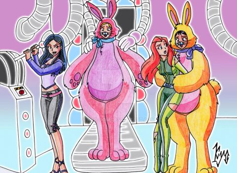 PLUSHIE TF - totally spies by kyo-domesticfucker
