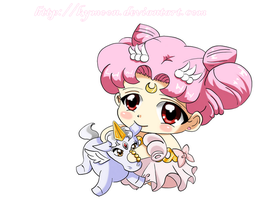 Princess ChibiUsa Baby by Kymoon