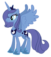 Season 1 Princess Luna reversed by AdolfWolfed4Life