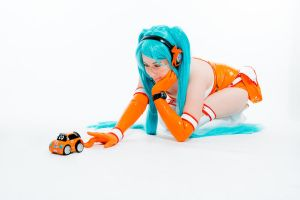 Hatsune Miku - Good Smile Racing Queen 2010 by CoolADN