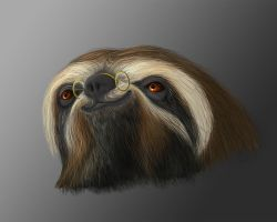 Edward the Sloth by TiJiL