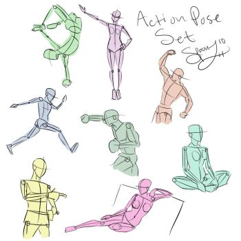 Action Poses by spoonz10