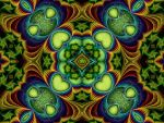Green Hearts by Thelma1