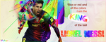 Leo Messi by mahermohamed