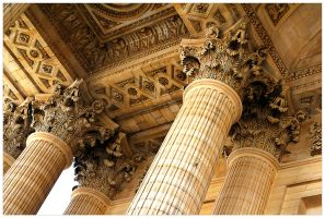 Columns of the Pantheon by bsilvestre