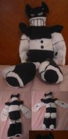 XJ8 plush by teenagerobotfan777