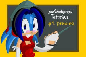 geN8's Tutorials - 1 Drawing by geN8hedgehog