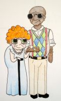 This One Old Couple - Colored by allistella