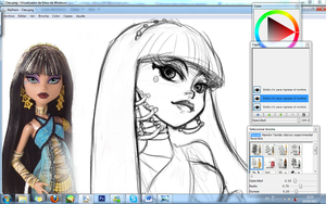 W.I.P Cleo De Nile by Lucia-Conchita