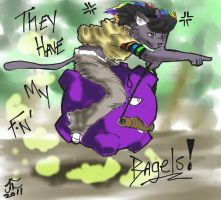 StolenBagels by Lycan-fennex