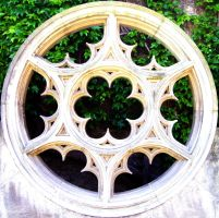 Gothic window by ThingsWillGoMyWay