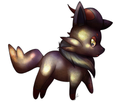 Tricky Little Zorua by jaclynonacloud