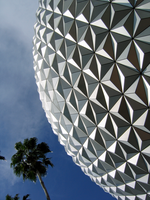Epcot Spaceship Earth Stock 5 by AreteStock