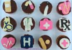 Medical Cupcakes by Psychic-MoonShadow