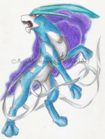 Reupload-NorthenWindSuicune by Fly-Sky-High
