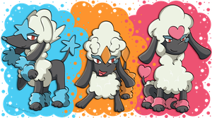 POODLE POKEMONS! by Fishlover