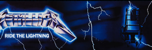 Ride the Lightning Banner by Nevermind0309