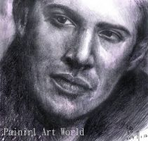 Jensen Ackles by Painirl