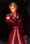 skyrim screenshot: vermilion by Elleylie