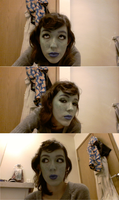 Daughter of Space-makeup test part 1 by Emmi-Kat
