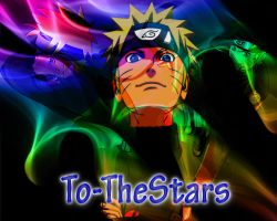 Naruto Shippuden In Colored Smoke Wallpaper by To-TheStars