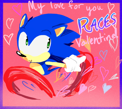 Valentine's Day - Sonic by ArtisyOne