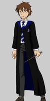 Lucky Spencer in Hogwarts by Dorothy64116