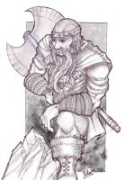 Finished Viking by bearcavestudios