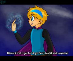 Blizzard in Disney's Frozen by Sweatshirtmaster