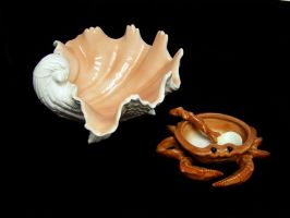 Shell Dish Stock25 by D-is-for-Duck
