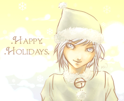 .Happy Holidays. by supervillain-wang