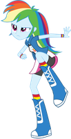EQG Rainbow Dash After Kick by Oathkeeper21