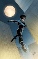 Wednesday Heroes 15-Nightwing by Kromdor