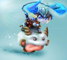 Sejuani Yordle League of Legends Tribute 2014 by tiocleiton