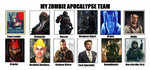 WHAT IS YOUR ZOMBIE APOCALYPSE TEAM?! by Rex42