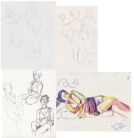 Life Drawing April23 09 by eruanna