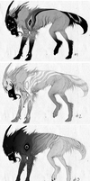 canine-demon ADOPTABLES 500 points each [closed] by Rae-77